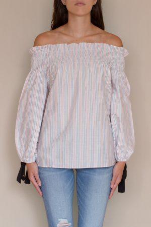Blusa Pink Stripes