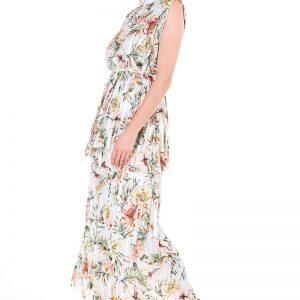 Vestido Flores Claro